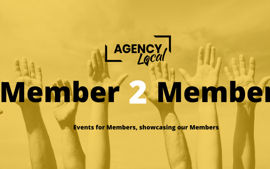 Launching the Member to Member Marketing event